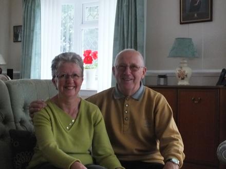 Sue and David Green at 19 Grange Park