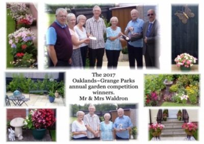 The Oaklands-Grange Annual Garden Competition